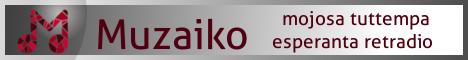 Muzaiko - круглосуточное Интернет-радио на Эсперанто